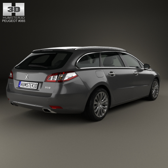 peugeot 508 sw 2014 by humster3d 3docean. Black Bedroom Furniture Sets. Home Design Ideas