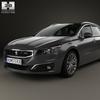 Peugeot 508 (mk1f) sw 2014 590 0006.  thumbnail