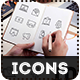 Digital marketing icons - GraphicRiver Item for Sale