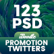 Bundle Promotion Twitter Header - 123PSD [07Set]