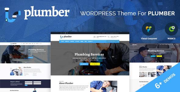 Plumber Pro – WordPress Plumber Theme