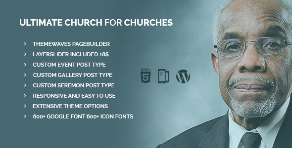 Ultimate Church | Business Template for Churches - Churches Nonprofit