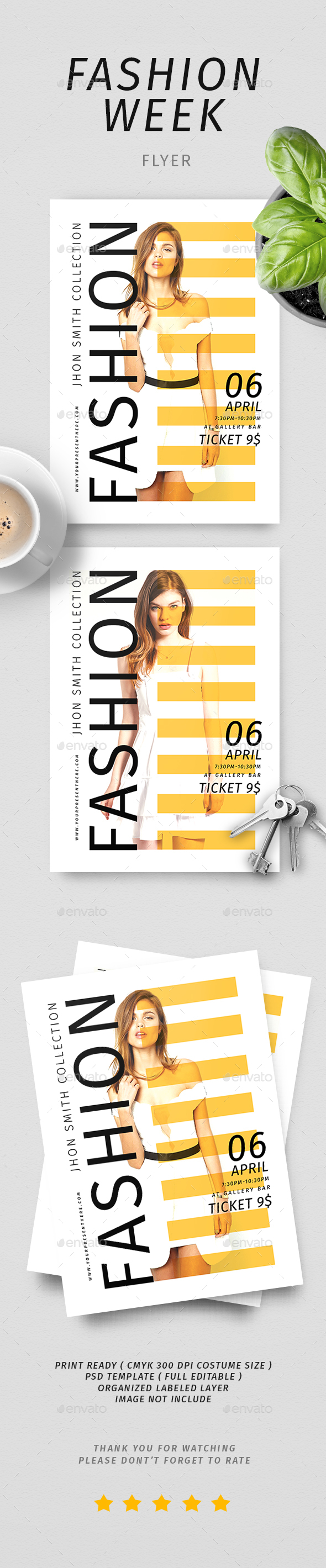 Fashion Week Flyer - Commerce Flyers