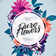 Pure Flowers Flyer - GraphicRiver Item for Sale