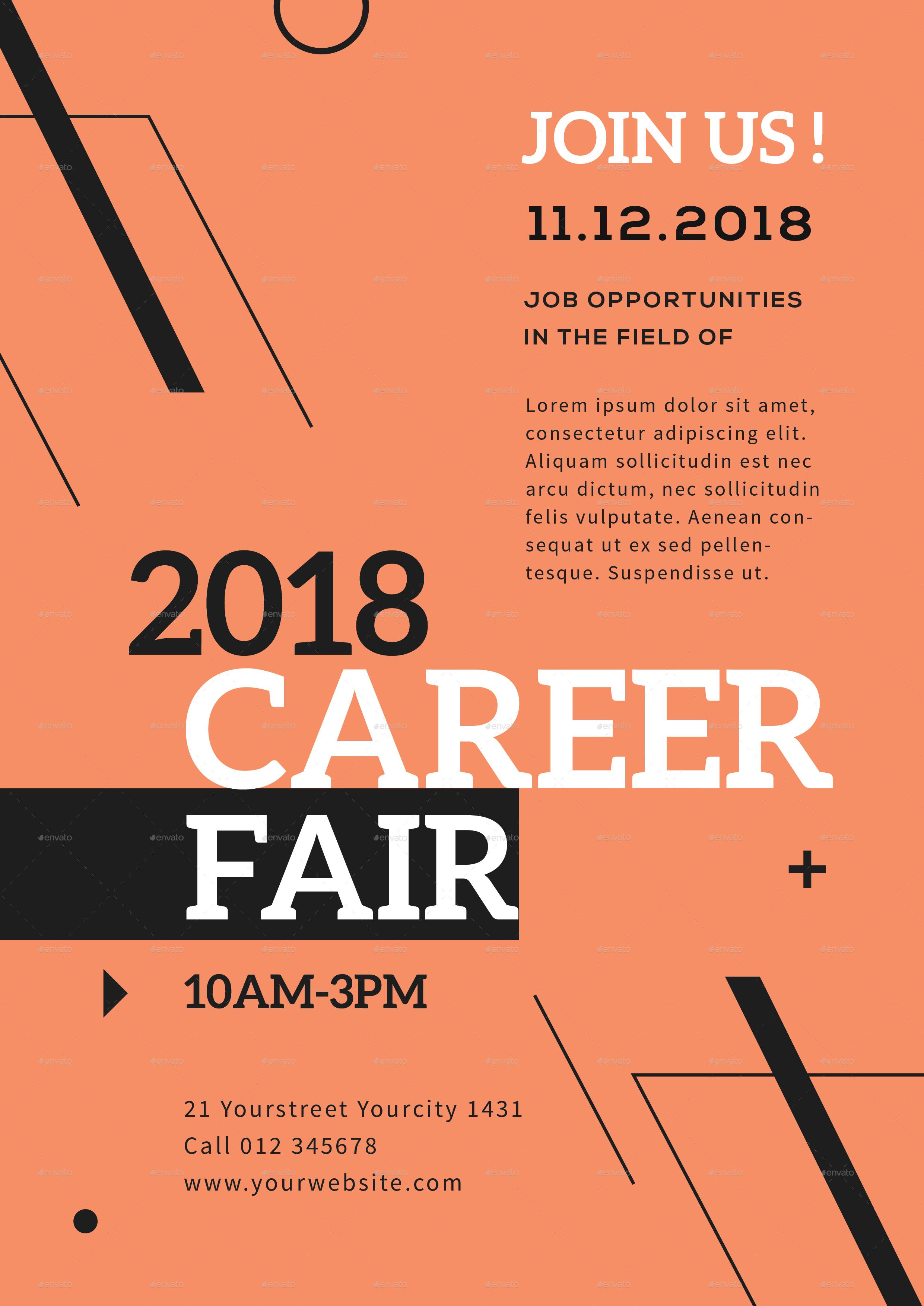 career fair flyer by infinite78910