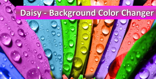 """Daisy"" - Background Color Changer for WordPress - CodeCanyon Item for Sale"