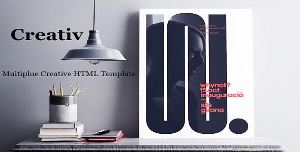 Creativ   Multiple HTML5 Template