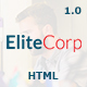 EliteCorp Multipurpose HTML5 Template - ThemeForest Item for Sale