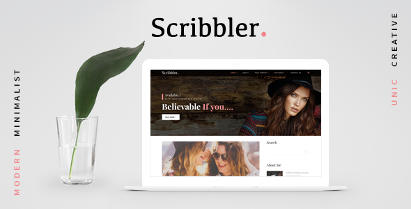 Scribbler – Lifestyle | Fashion Blog HTML Template