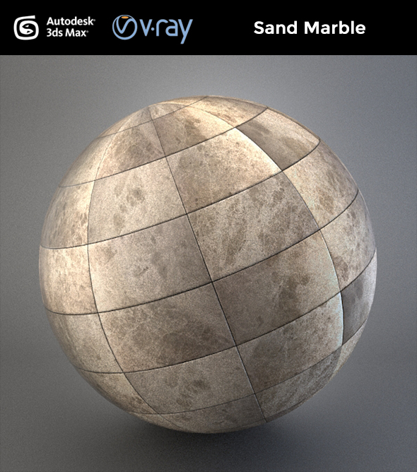Sand Marble - 3DOcean Item for Sale