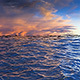 Ocean with Dramatic Sunset - VideoHive Item for Sale