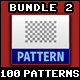 100 Tileable / Seamless Patterns Bundle Vol.2 - GraphicRiver Item for Sale