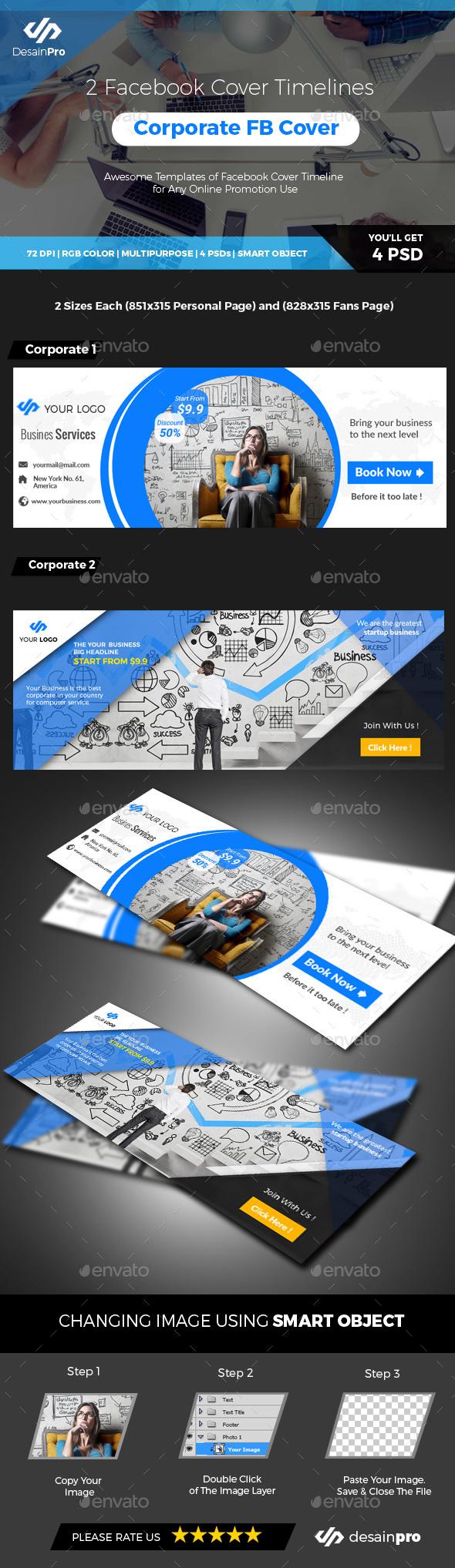Corporate Facebook Cover Timeline - Facebook Timeline Covers Social Media