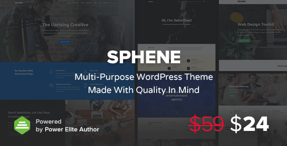 Sphene – Multi-Purpose & WooCommerce WordPress Theme