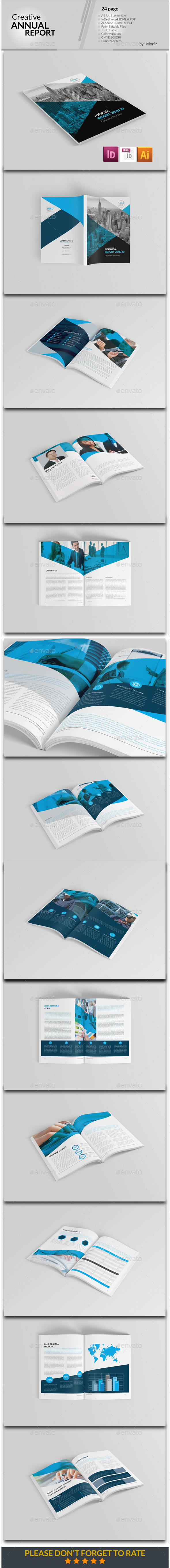 Annual Report - Proposals & Invoices Stationery