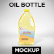 Oil Bottle Label Mockup - GraphicRiver Item for Sale