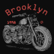 Brooklyn motorcycle design - GraphicRiver Item for Sale