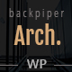 Backpiperarch - Architecture, Interior, Portfolio WordPress Theme - ThemeForest Item for Sale