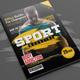 Sport Magazine - GraphicRiver Item for Sale