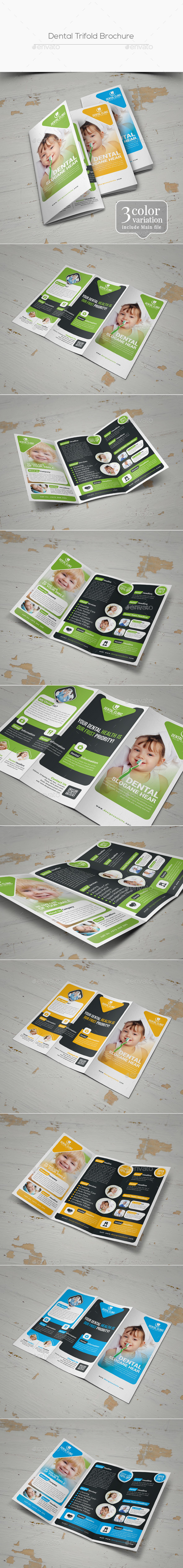 Dental Trifold Brochure - Informational Brochures