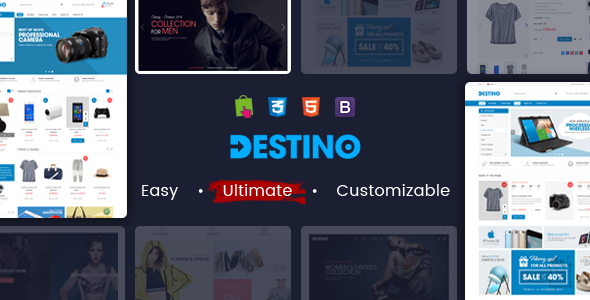 Destino - Responsive Multipurpose WooCommerce WordPress Theme