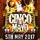 Cinco de Mayo Party v2 Flyer Template - GraphicRiver Item for Sale