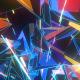 Colorful Cosmic Polygonal Tunnel VJ Loop - VideoHive Item for Sale