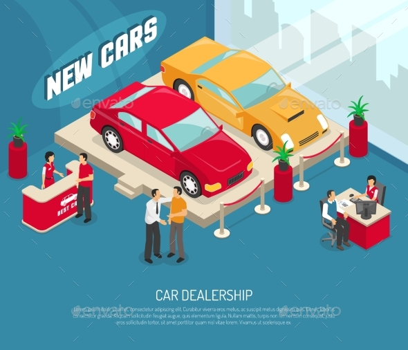 Car Dealership Leasing Composition - Retail Commercial / Shopping