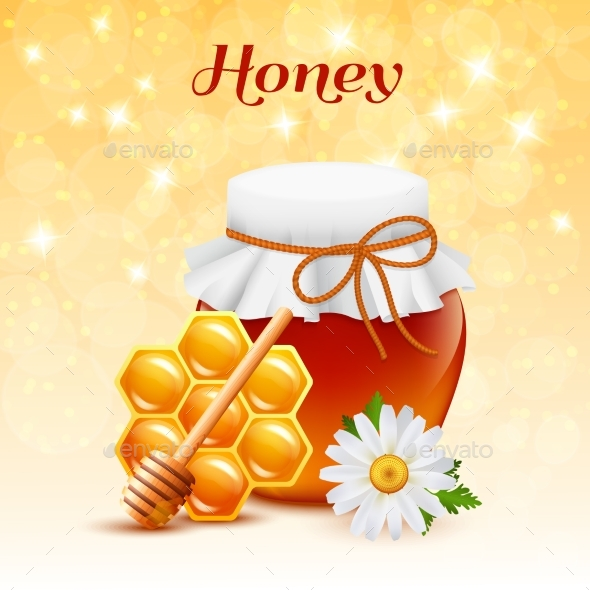 Honey Color Concept - Food Objects