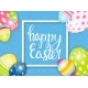 Happy Easter Spring Holiday Background - GraphicRiver Item for Sale
