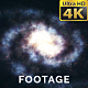 3D Galaxy | Spinning Spiral Two Arms Galaxy Loop - VideoHive Item for Sale