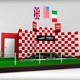 Formula One sport podium - 3DOcean Item for Sale