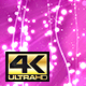Pink  Abstract Lines&Particles BG 4K - VideoHive Item for Sale