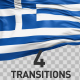 Greece Flag Transitions - VideoHive Item for Sale