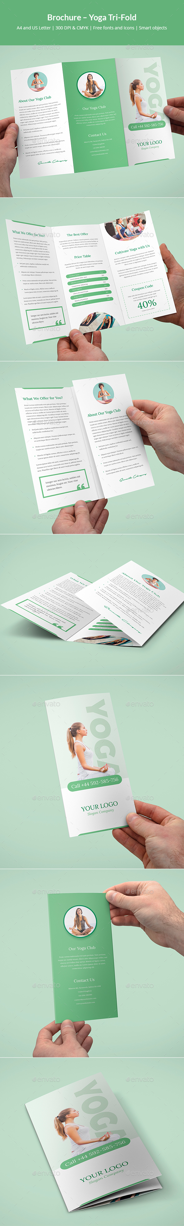 Brochure – Yoga Tri-Fold - Corporate Brochures