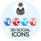 Social Icons - GraphicRiver Item for Sale