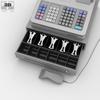 Cash register white 590 0005.  thumbnail