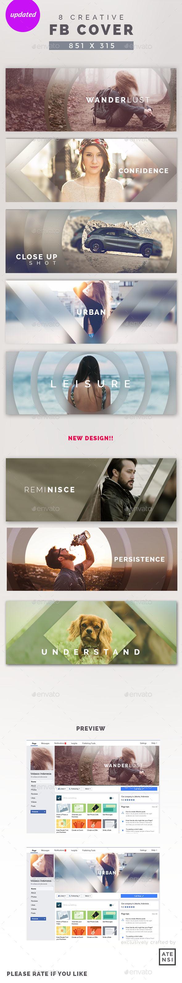 Creative Facebook Cover - Social Media Web Elements