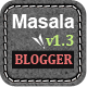 Masala - Responsive Multipurpose Blogger Template Nulled