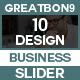 Sliders - 10 Design 2 - GraphicRiver Item for Sale