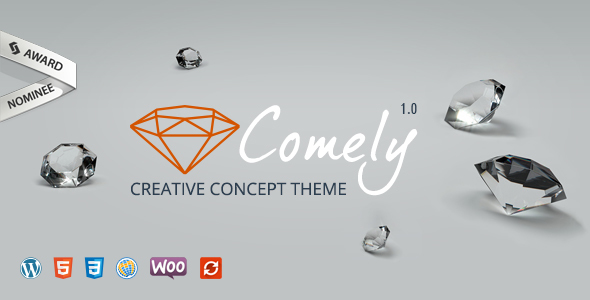 Comely | Creative Concept Theme
