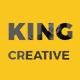 King Creative - Creative Portfolio WordPress Theme - ThemeForest Item for Sale