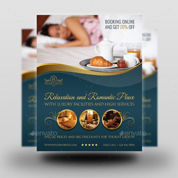 Hotel Flyer Template Vol.2 By Owpictures | Graphicriver