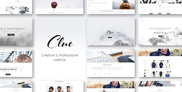 Clue – Creative Multiuse HTML Template