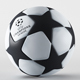 Football, UEFA Champions League Ball - 3DOcean Item for Sale