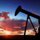 Oil Pump Silhouette Over Sunset - VideoHive Item for Sale