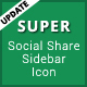 Super - Social Share Sidebar - CodeCanyon Item for Sale