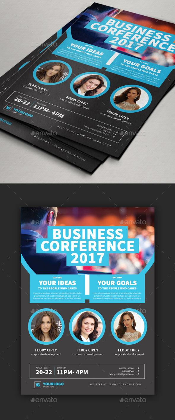 Conference Flyer V1 - Corporate Flyers