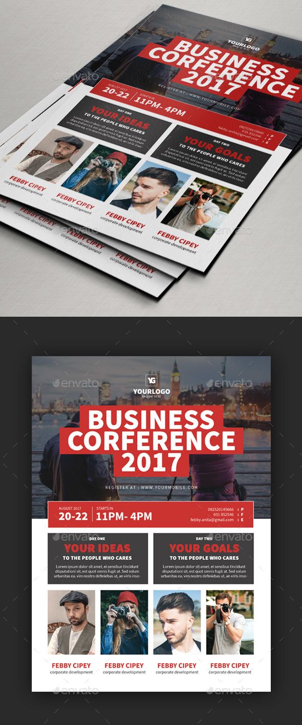 Conference Flyer V3 - Events Flyers