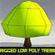 Low Poly Trees - Textured and Riged - 3DOcean Item for Sale